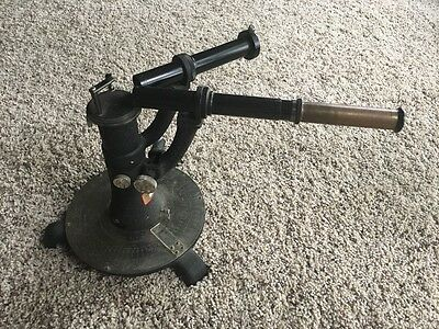 W.M Welch Antique Spectrometer. patent applied for. Chemistry