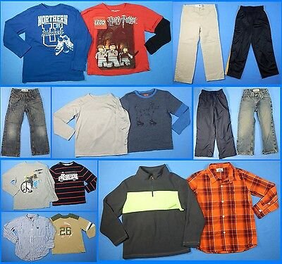 15 Piece Lot of Nice Clean Boys Size 5t 5 Fall Winter Everyday Clothes fw14