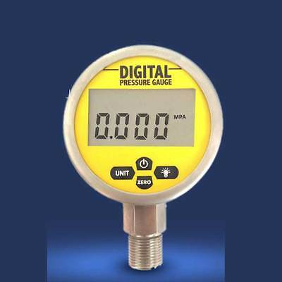 80mm Stainless Steel Digital Electric Pressure Gauge 0 to 0.16-60MPA For Choice