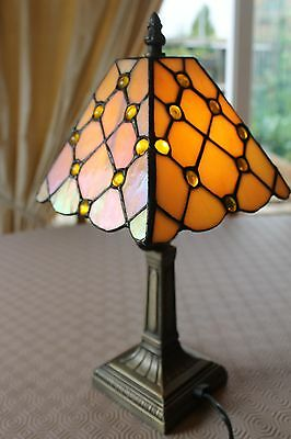 Tiffany Style Small Table Lamp F.w.o.