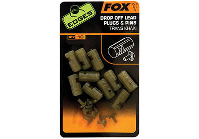 Fox NEW Edges Terminal Drop Off Lead Plugs And Pins - CAC635