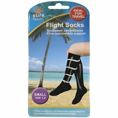 Sure Flight Socks Small Size 3-5 1 2 3 6 12 Packs