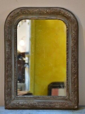 Small 19th century French Louis Philippe mirror  - antique French mirror