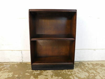 Vintage c 1941 Small Art Deco 2 Tier Bookcase Shelves 31x23 Ships Free!