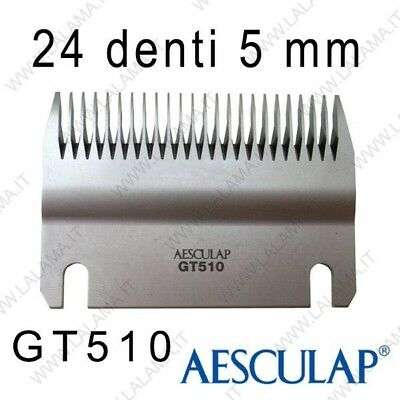 Pettine 5 mm 24D GT510 - Aesculap