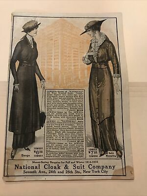 BP203 Lot 1914 National Cloak And Suit Company