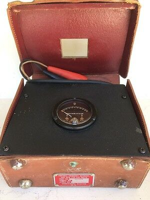 SUNDSTRAND AVIATION Portable Frequency Reference 400 CPS 110-120V