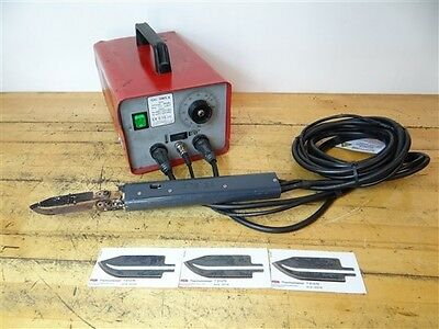 Az Foremen Gg Thermocutter Unit W/ Zts24 Hot Knife Handle 115V + 3 New Blades