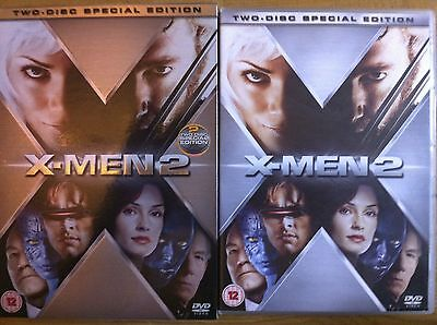 Hugh Jackman Halle Berry X-MEN 2 ~ Edición Limitada GB DISCO 2 DVD con / FUNDA
