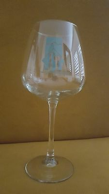 "Redlands Conservancy Wine Tasting Glass, 8 1/2"" x 4"""