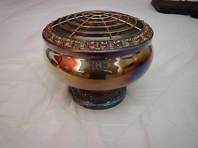 Vintage Silver Plated Rose Bowl - Excellent Condition - c1960
