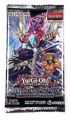 Konami Yu-Gi-Oh! TCG, Dimensional Guardians Duelist booster Pack, New