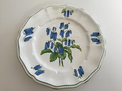 "Crown Staffordshire England Fine Bone China ""Somerset"" Salad Plate, 8 1/2"" D"