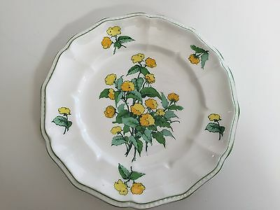"Crown Staffordshire England Fine Bone China ""Cornwall"" Salad Plate, 8 1/2"" D"