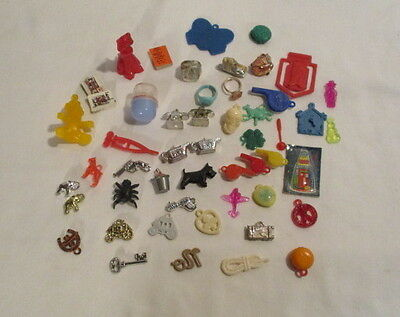 50 Cracker Jack Toys Bubble Gum Charms And Toys
