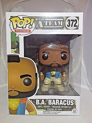 B.A. BARACUS 372 Funko POP!  The A-Team vinyl figure New In Package Hard to Find