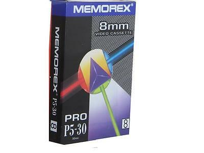 Memorex 8mm P5-30 CAMCORDER TAPE / CASSETTE BRAND NEW SEAL PACK