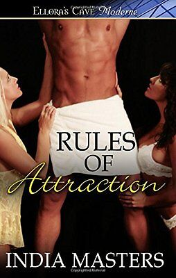 RULES OF ATTRACTION by India Masters EROTIC CONTEMPORARY MENAGE    *NEW*    OOP