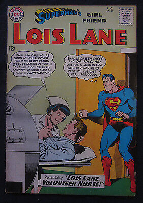 LOIS LANE Superman's Girlfriend #43 1963 DC Comics 6.0 FN Silver Age LEX LUTHOR