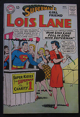 LOIS LANE Superman's Girlfriend #53 1964 DC Comics 8.0 VF Silver Age