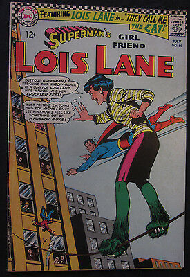 LOIS LANE Superman's Girlfriend #66 1966 DC Comics 6.5 FN+ Silver Age