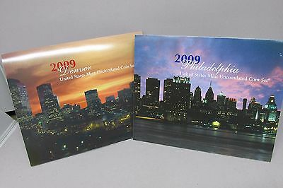 2009 Annual US Mint Uncirculated Coin Set Complete 36-Coin Set P & D