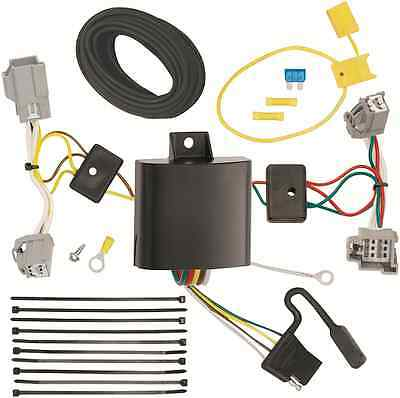 trailer wiring harness kit for 94 98 jeep grand cherokee zj all