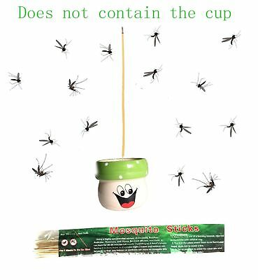 Henslow All Natural Plant-Based Mosquito Sticks Quickly Repel Mosquitoes, New