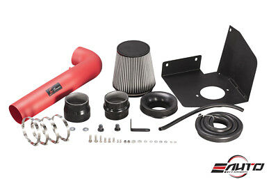 """Heat Shield AF Dynamic Air Filter intake 3.5/"""" Red Pipe for Acura TSX 09-14 2.4L"""