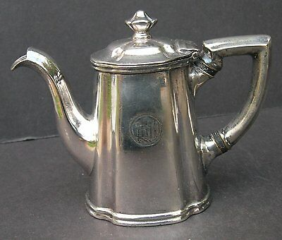French Lick Springs Hotel Silver Teapot