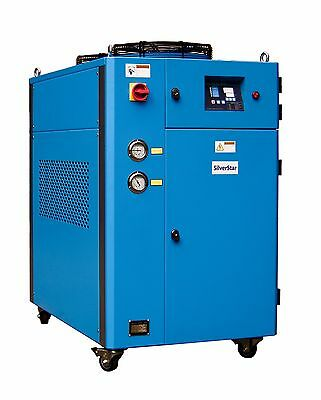 SKYLINE Brand New 10 Ton Portable Air Cooled Chiller SAC-10 208/220/230v