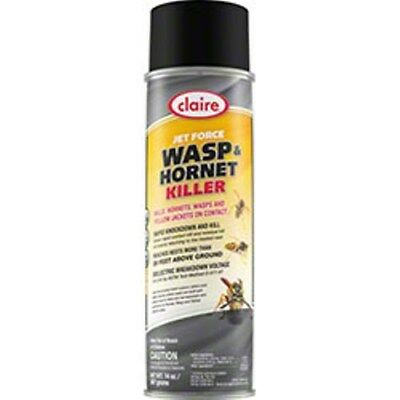 Industrial-Strength Jet Force Hornet & Bee Killer Spray -- Reaches Up to 20 Feet