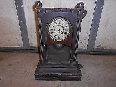 Early ? Antique/Vintage Seth Thomas Mantle Clock  For Parts Or Repair