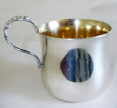 Reed & Barton Sterling Silver Francis I Christening Cup X568