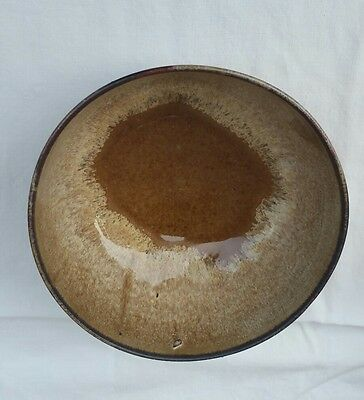 Vintage Pottery Bowl Corofin Made In Ireland Brown