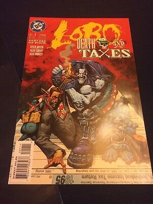 #1 - LOBO - Death And Taxes - Part 1 of 4 - DC 1996