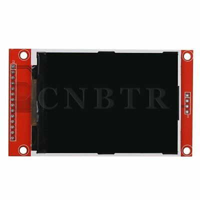 240 x 320 SPI TFT 2.8 Serial Port LCD Display Module Red Black