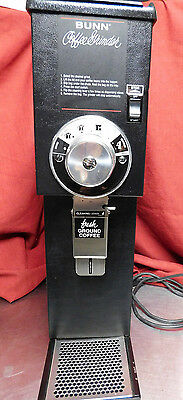 Bunn G3 HD Coffee Bean Grinder CALIBRATED Disassembled & Fully Cleaned #a