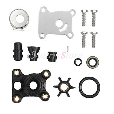 Water Pump Impeller Repair Kit For Johnson/Evinrude 9.9/15hp 2/4-Stroke 394711