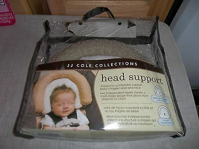 J.j. Cole Baby Head Support ~ Khaki ~ New