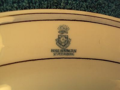RARE HOTEL HUNTINGTON St Petersburg Resort Restaurant SMALL Platter Plate Dish