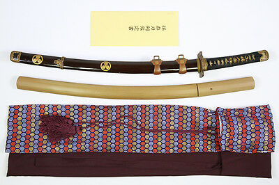 Japanese Samurai Sword Katana Wakizashi in Koshirae signed & NBTHK Certification