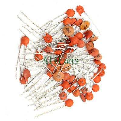 25 Kinds Ceramic Capacitor Each 10pcs Disc Capacitor 250pcs All in one Bag