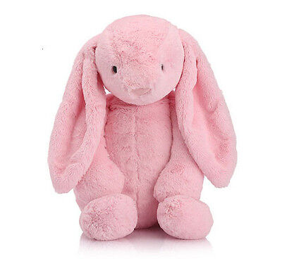 NEW Pink Cute Baby Infant Toddler Soft Bunny Rabbit Stuffed Animal Gift Shower