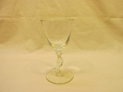Vintage Old Crow Glass