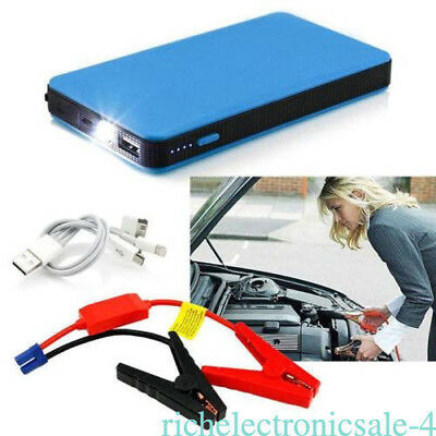 20000mAh Car Auto Jump Starter Power Bank Emergency Charger Booster Battery 12V