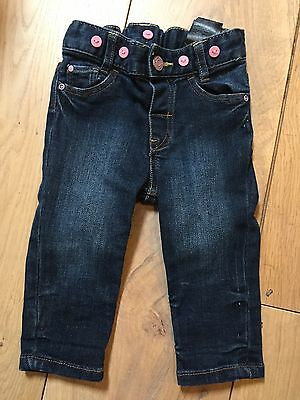 H&M Baby Girl Jeans 4-6m (BNWOT)