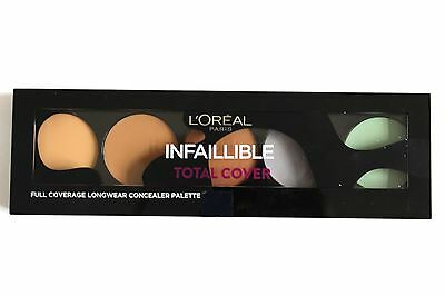 L'Oreal Paris Infallible Total Cover Full Coverage Longwear Concealer Palette
