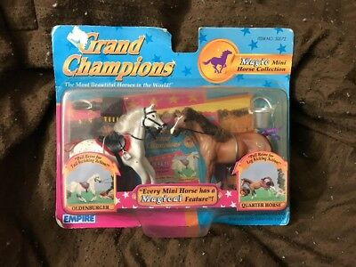 Grand Champions Magic Mini Horse Oldenburger And Quarter Horse Damaged Package