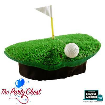 FUNNY GOLF HAT WITH FLAG AND BALL Novelty Sport Stag Do Crazy Golf Hat H09591